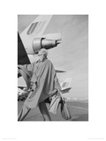 Carmen Dell Orefice  Planes c Vogue 1970