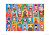 Sock Monkey Gridlock