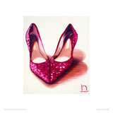 Ruby Heart Shoes