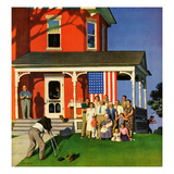 """Family Portrait on the Fourth""  July 5  1952"