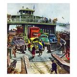 """Hudson Ferry""  February 4  1950"