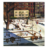 """Gramercy Park""  February 11  1950"