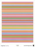 2012 Olympics-Bridget Riley-Rose Rose