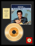"Elvis Presley - ""Kentucky Rain"" Gold Record"