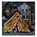 """Backyard Campers""  September 5  1953"