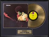 "Jimi Hendrix - ""Band Of Gypsys"" Gold LP"