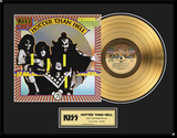 "KISS - ""Hotter Than Hell"" Gold LP"