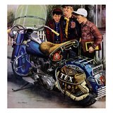 &quot;Tex&#39;s Motorcycle&quot;  April 7  1951