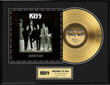 "KISS - ""Dressed To Kill"" Gold LP"