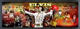 Elvis Presley - Framed Elvis Photoramic (Panoramic Timeline Photo)