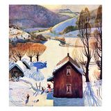 """Snow on the Farm""  December 22  1956"