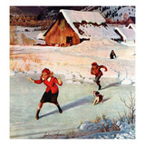 """Winter on the Farm""  December 30  1950"