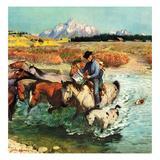 """""""Herding Horses""""  September 13  1952"""
