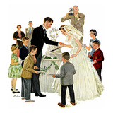 """Cutting the Cake""  May 17  1958"
