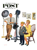 &quot;At the Photographer&quot; Saturday Evening Post Cover  September 26  1959