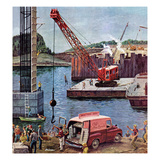 &quot;Bridge Construction&quot;  March 9  1957