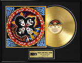 "KISS - ""Rock And Roll Over"" Gold LP"