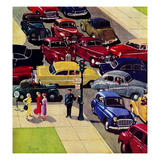 """Traffic Jam""  April 28  1956"