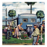 &quot;Trailer Park Garden&quot;  February 2  1952