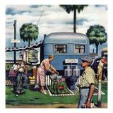 """""""Trailer Park Garden""""  February 2  1952"""