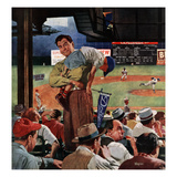 """Sleepy Inning""  April 23  1955"