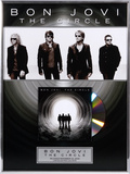 "Bon Jovie - ""The Circle"" framed CD"