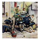 &quot;Working on the Jalopy&quot;  May 20  1950