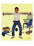 """Working Out""  March 14  1959"