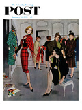 """Perfect Fit"" Saturday Evening Post Cover  January 10  1959"