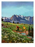 """Picnic On Mt Ranier""  July 17  1954"