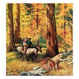 """Fall Horseback Ride""  October 20  1956"