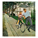 """Bike Riding Lesson""  June 12  1954"