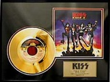 "KISS - ""Beth"" Gold Record"