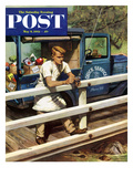 """Rush Order"" Saturday Evening Post Cover  May 9  1953"