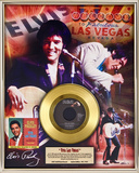 "Elvis Presley - ""Viva Las Vegas"" 40th Anniv Gold Record"
