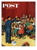 """School Orchestra"" Saturday Evening Post Cover  March 22  1952"