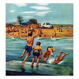 &quot;Ice Cream Truck at the Beach&quot;  July 31  1954