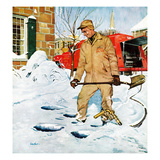 """""""Heating Oil Delivery""""  March 1  1958"""