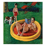 """Wading Pool""  August 27  1955"