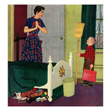 """Mom  I Cleaned My Room!""  April 2  1955"