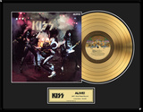 "KISS - ""Alive!"" Gold LP"