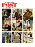 &quot;Mr Mom&quot; Saturday Evening Post Cover  May 12  1956