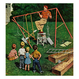 """Swing-set""  June 16  1956"
