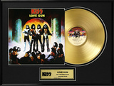 "KISS - ""Love Gun"" Gold LP"