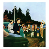 """First Day at Camp""  July 3  1954"