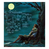 """""""Moonlit Future""""  August 15  1959"""