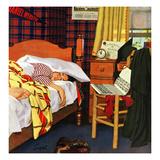 """""""Sleeping In""""  June 19  1954"""