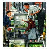 """Fish Aquarium""  October 30  1954"