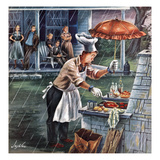 """Rainy Barbecue""  July 28  1951"