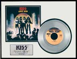 KISS - &quot;Love Gun&quot; Platinum Record